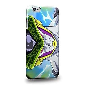 "Case88 Premium Designs Dragon Ball Z GT AF Cell (Super Saiyan Mode) Carcasa/Funda dura para el Apple iPhone 6 4.7"" (No Plus 5.5"" !)"