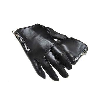 96f738ff716fee Dall Handschuhe Handschuhe Touchscreen Herren Lederhandschuhe Fahren Warm  Lining Winter (Farbe : SCHWARZ, größe