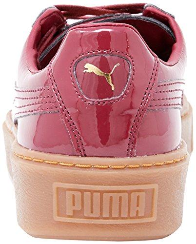 Platform Red 36331404 Tibetan Wns Patent Red tibetan Puma Deportivas Basket fq4wAA