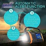 FosPower Emergency Solar Hand Crank Portable
