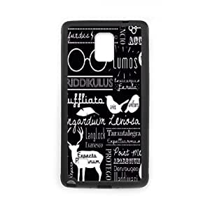 Samsung Galaxy Note 4 Cases Cell Phone Case Cover Movie Harry Potter Spells Collage 5T56T875440