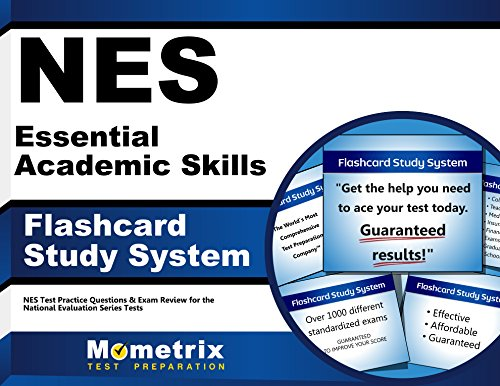 NES Essential Academic Skills Flashcard Study System: NES Test Practice Questions & Exam Review for the National Evaluation Series Tests (Cards)