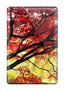 Rugged Skin Cases Covers For Ipad Mini- Eco-friendly Packaging(japanese Maple Tree)