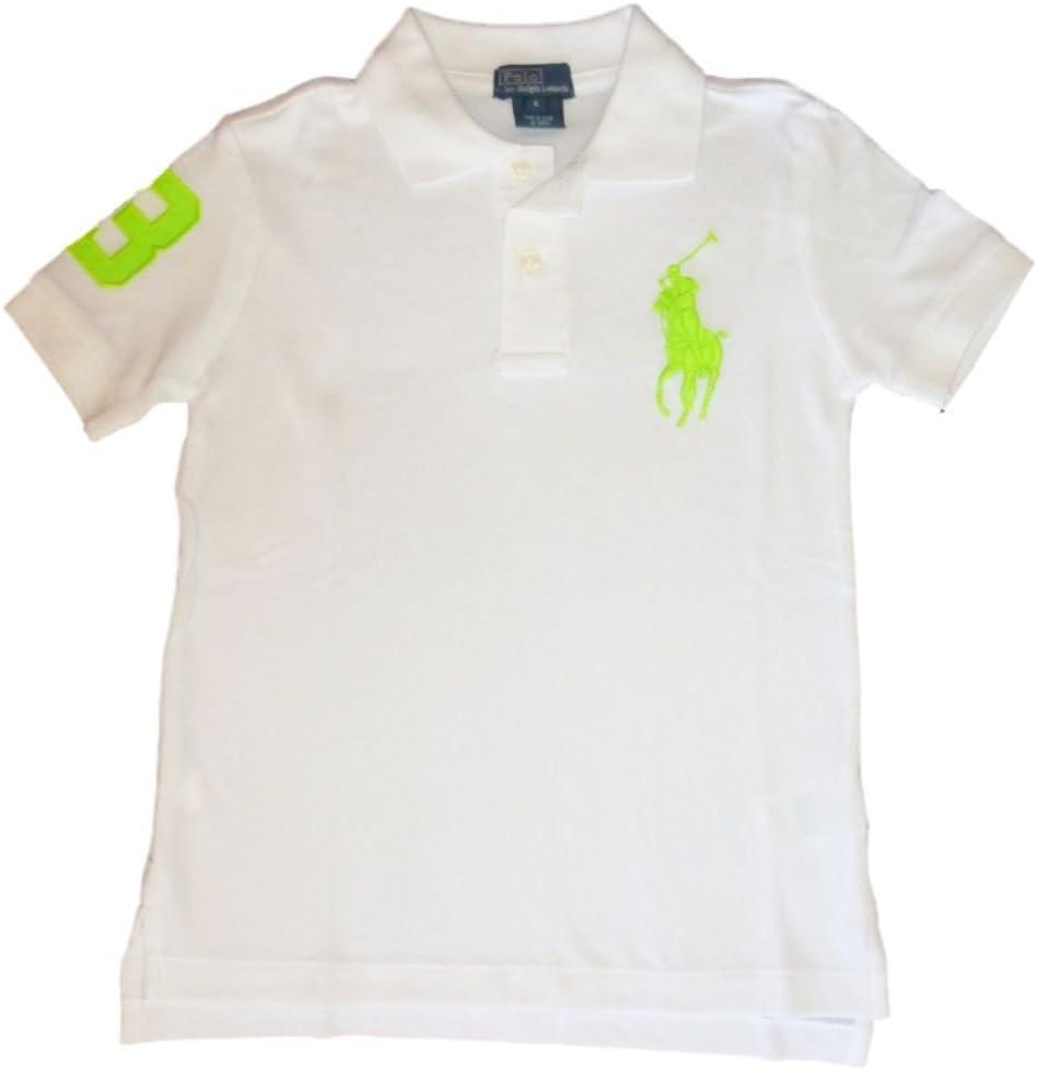 Ralph Lauren Niños Polo Camiseta de Big Pony Polo Jinete Blanco ...