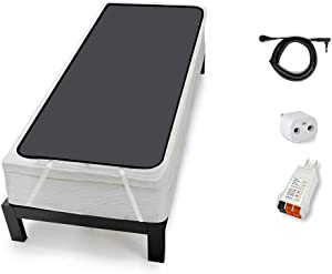 Grounding Mattress Cover for Bed (Twin XL Size), grounding Sheets for earthing, Improve Sleep with Clint Ober's EARTHING Products (Also Available in Cal King, Split King, King, Queen, Full, Twin)