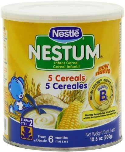 Nestle Nestum Infant Cereal 5 Cereals, 300-Grams (Pack of 6)