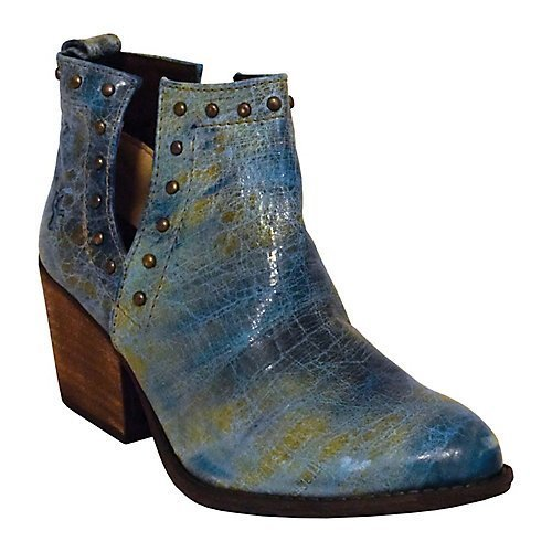 3654af50d Ferrini Women s Bootie Ankle Boot Turquoise 8