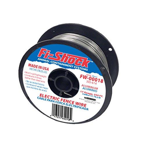 Fi Shock 250 17 Gauge Spool Aluminum Wire Fw 00018d