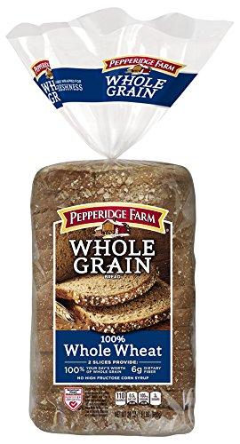 Pepperidge Farm Whole Grain Bread, Wheat, 24 Ounce