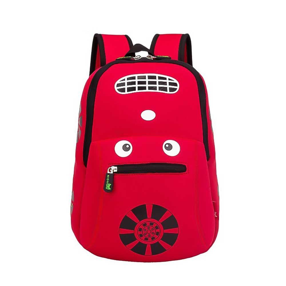 FangYOU1314 Kinder Schultasche Kindergarten Boy Cartoon Auto Rucksack mit ergonomischem Design Reisetasche