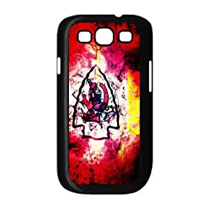 NFL kansas city chiefs Print Black Case With Hard Shell Cover for Samsung Galaxy S3 I9300