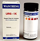100 Professional Ketone test strip Urinalysis Urine strip tests for ketones