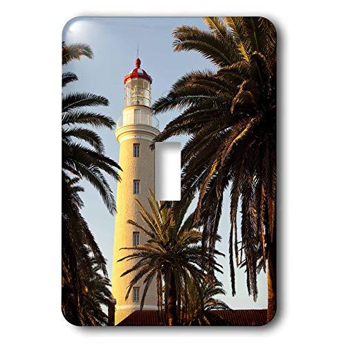 (3dRose Danita Delimont - Uruguay - East Point Lighthouse, Punta Del Este, Uruguay, South America - double toggle switch (lsp_314401_2))