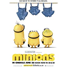 """Posters USA Minions Despicable Me 2 Movie Poster GLOSSY FINISH - MOV580 (24"""" x 36"""" (61cm x 91.5cm))"""