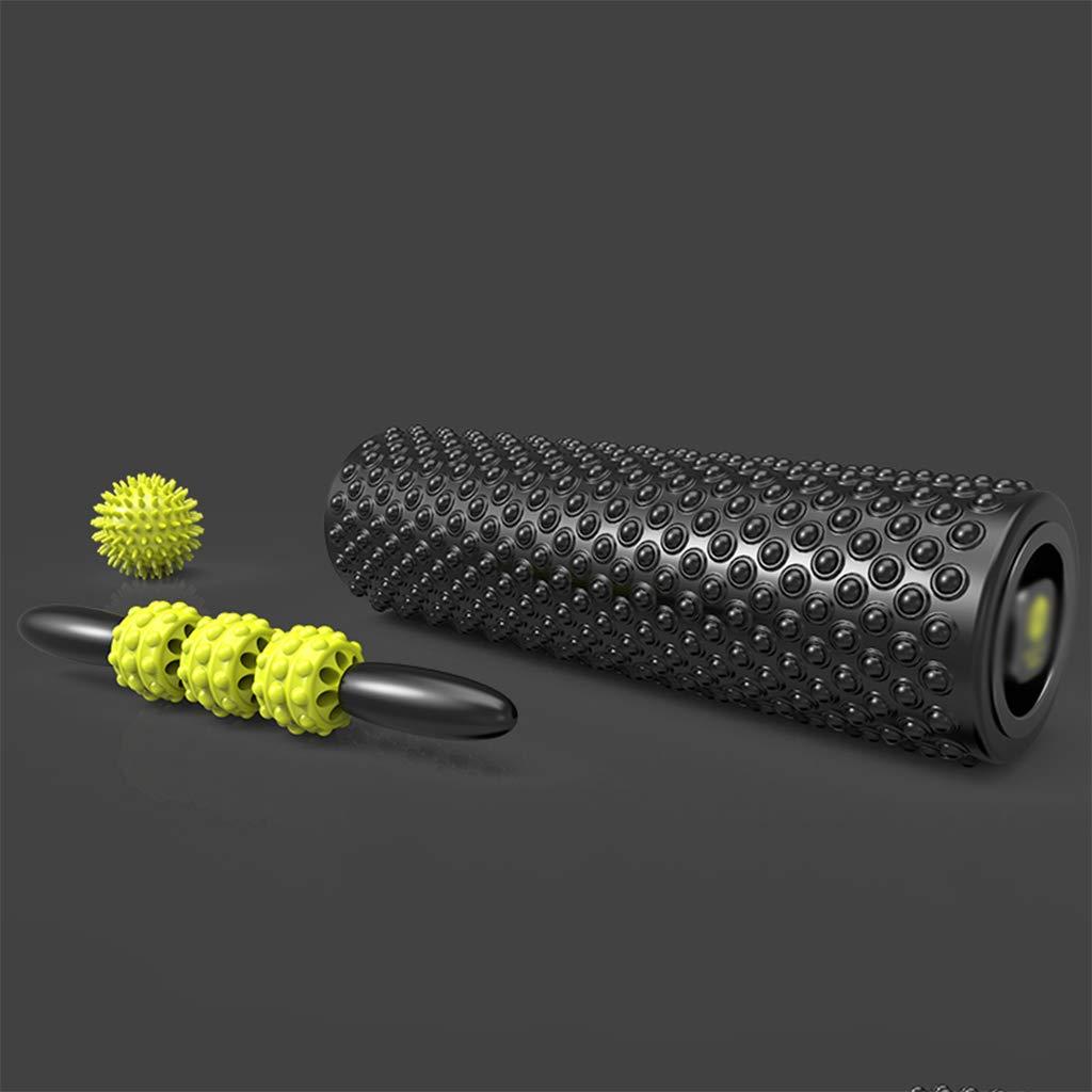 NSC Fitness Yoga Spalte Schaum Achse Gleitpunkt Massager Wolf Zahn Roller Massage Set