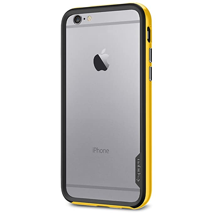 buy popular fe689 e37ee Spigen Neo Hybrid EX iPhone 6 Case with Flexible Inner Bumper and  Reinforced Hard Frame for iPhone 6S / iPhone 6 - EX Reventon Yellow