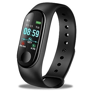 GBVFCDRT Mujeres Reloj Inteligente Hombres Ritmo Cardíaco Presión Arterial Oxígeno Sleep Monitor Podómetro Fitness Relojes Deportivos