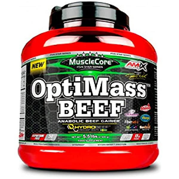 OPTIMASS BEEF GAINER 2500 GR Doble-chocolate-coco ...