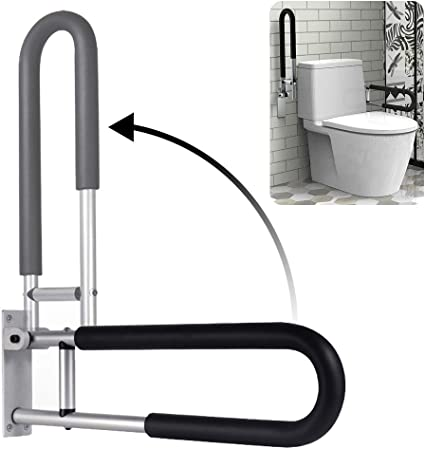 Amazon Com Botabay Handicap Grab Bars Rails 23 6 Inch Toilet Handrails Bathroom Safety Bar Hand Support Rail Handicapped Handrail Accessories For Seniors Elderly Disabled Mounted Bath Grips Health Personal Care