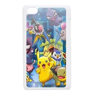 iPod Touch 4 Case White pokemon friends anime LV7051818