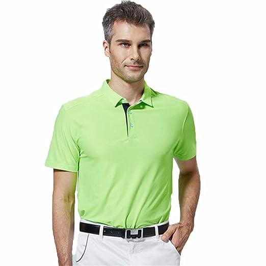 Camiseta para Hombre, Ropa de golf de verano Camisetas deportivas ...