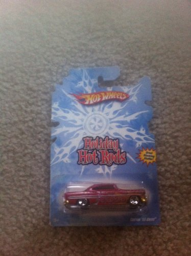 HOT WHEELS 2008 red CUSTOM '53 CHEVY 1953 HOLIDAY HOT RODS 1:64 Scale Die-cast Collectible Car