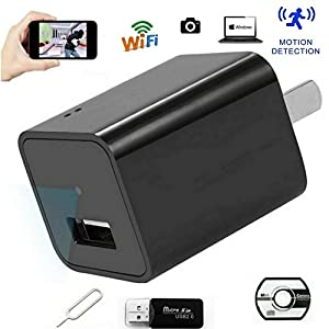 Wireless Wifi Hidden Camera Security and Surveillance Spy Camera With Motion Activated and Loop Recording Video Support APP Remote View Support IOS and Android By Saveguard