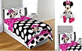 Best Comforter Set With Plushes - Disney Minnie Mouse Complete Bedding Comforter Set Review