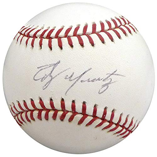 Edgar Martinez Autographed Signed Memorabilia Official MLB Baseball Seattle Mariners - Beckett - Baseball Martinez Mlb Autographed