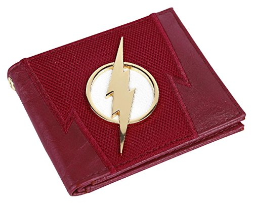 DC Comics The Flash Suit Up Bifold Boxed Wallet -