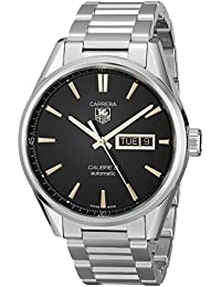 TAG Heuer Men's WAR201C.BA0723 Carrera Analog Display Swiss Automatic Silver Watch
