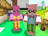 mario games - Clip: Mario Statues in Minecraft