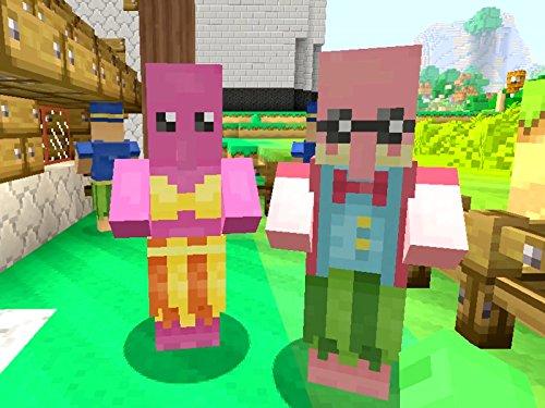 Clip: Mario Statues in Minecraft