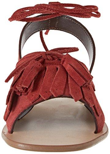 Pennyblack Rosso cerrada de tacón punta Mujer zapatos de Corallo Secolo r6q8Rr