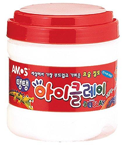AMOS Clay 400g (14.1oz) Bucket 10 Single Color - Amo De Mall