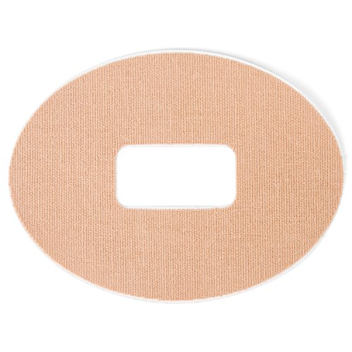 Insulin Life   25 Pack   Oval Dexcom G4 G5 Adhesive Patches    2 Colors Available   Nude