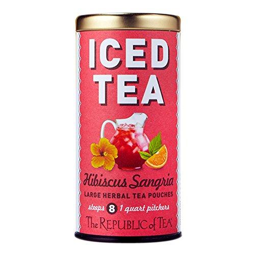 Republic of Tea Iced Tea Hibiscus Sangria, 8-ct