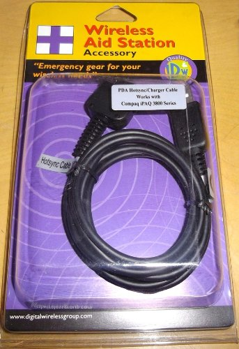 (NEW USB Charge & Sync Cable for HP Compaq iPaq 3800 3835 3850 3900 3950 3955 3970)