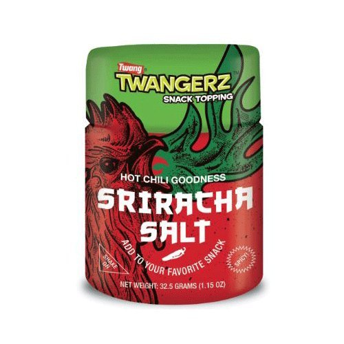 Twang Twangerz Snack Topping Sriracha Hot Chili Salt - 4pk by Twang (Image #1)