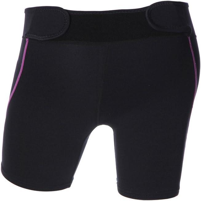 Labelar Damen Tauchhose Kurz Winterbader Neoprenhose Sport Schwimmhose Badehose UV Schutz 1.5mm Neopren Shorts