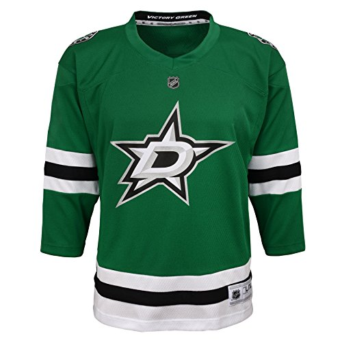 - Outerstuff NHL Dallas Stars Youth Boys Replica Home-Team Jersey, Small/Medium, Medium Green