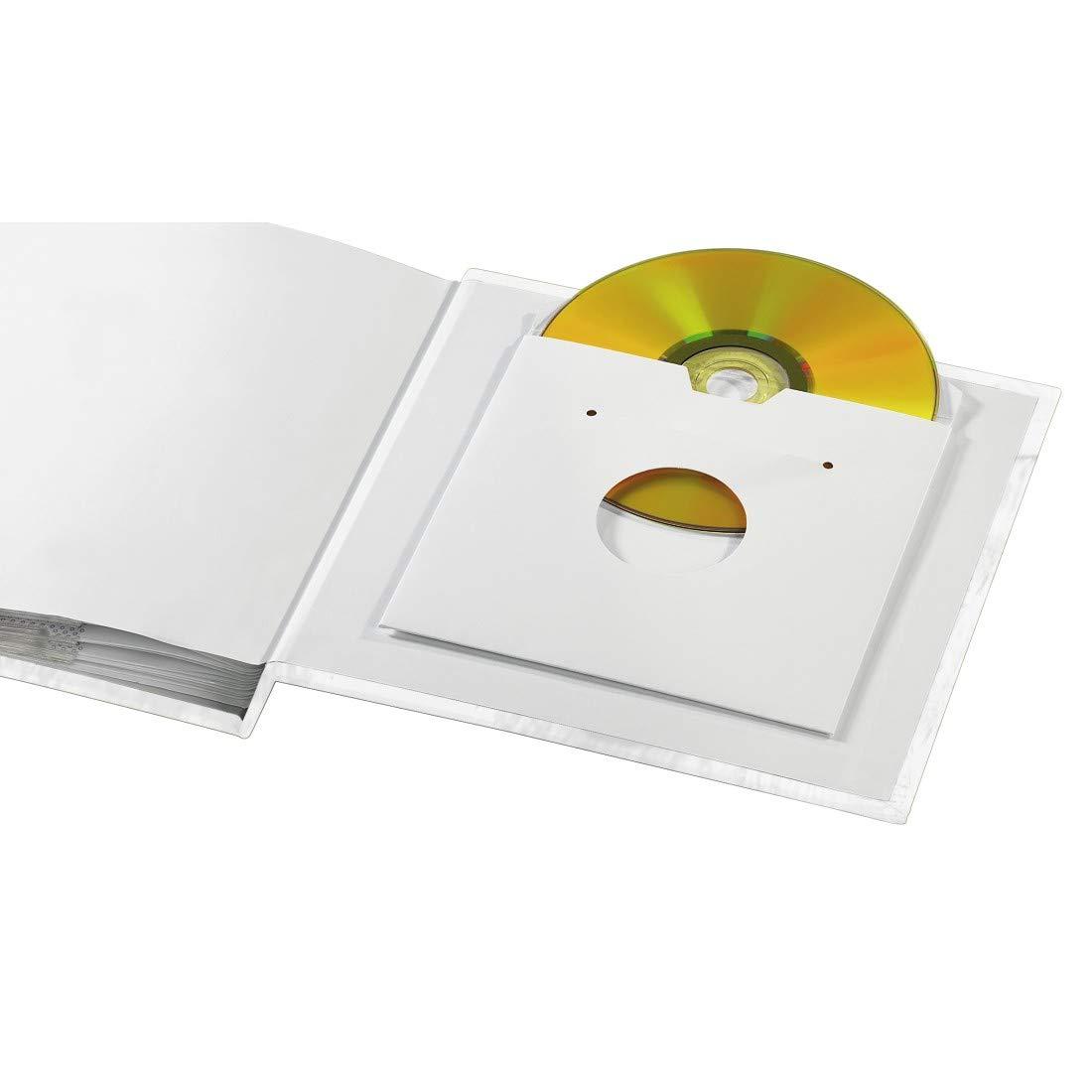100 Hojas 10 x 15 cm 1 Pieza Hama Designline /álbum de Foto y Protector /Álbum de fotograf/ía s 225 mm 200 Hojas