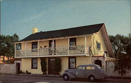 Old Whaling Station Monterey, California Original Vintage Postcard (Whaling Station Old)