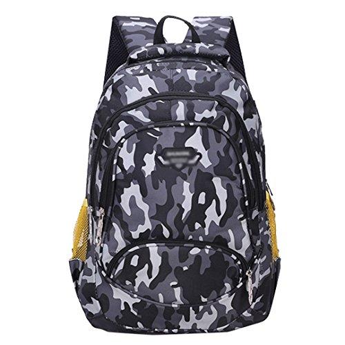 ize Camouflage Backpack Students Schoolbag Laptop Bag Casual Daypack Outdoor Travel Shoulder Bag (Oversize Laptop Backpack)