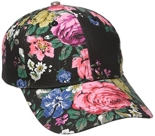 BCBGeneration Womens Floral Baseball Cap product image