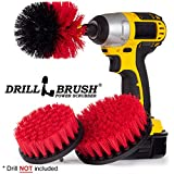 New Quick Change Shaft Brick Stone And Fire Place Cleaning Brush Kit By Drillbrush