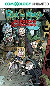 Rick and Morty vs. Dungeons & Dragons #4 (of 4)