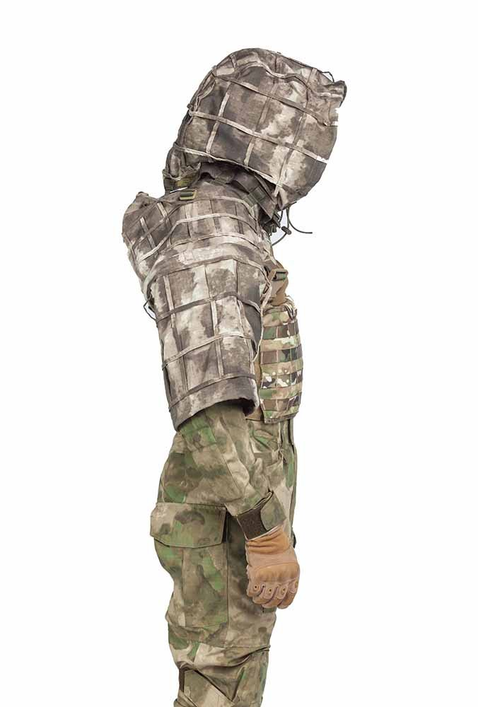 Gift Russia Russian Spetsnaz Ripstop Disguise Viper Hood Partizan SS Pattern