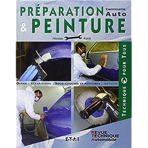 Préparation et peinture carrosserie auto