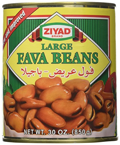 Ziyad Fava Beans, Large, 30 Ounce (Pack of 12) by Ziyad